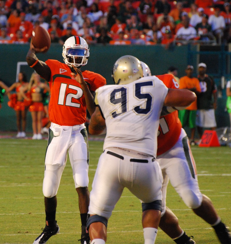 Canes trounce Charleston Southern, 52-7