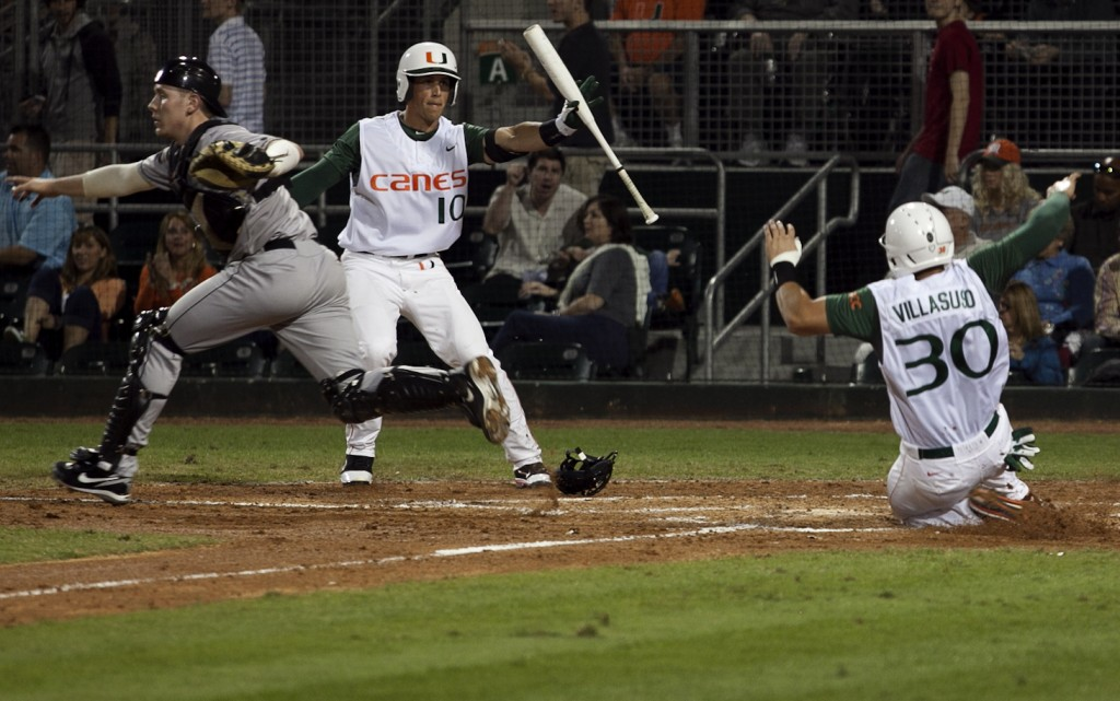 Canes win season opener in extra innings
