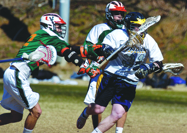 Men's lacrosse season could be cut short