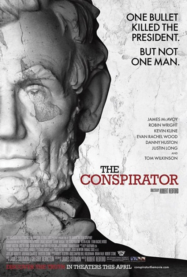 'The Conspirator' is engrossing and surprisingly timely