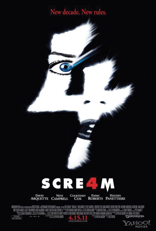 'Scream 4' just as good as the first