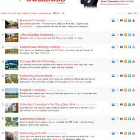 Screenshot of http://www.studentadvisor.com/top-100-social-media-colleges