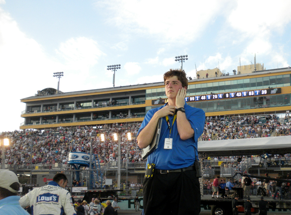 Students win NASCAR marketing competition