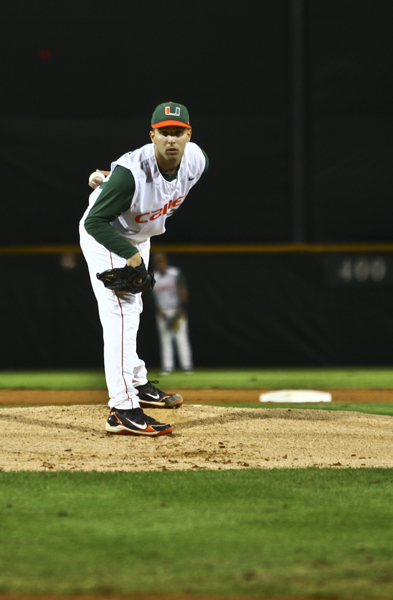 Freshman pitcher proves he deserves starting role