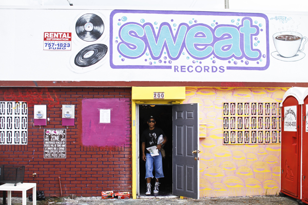 Record store celebrates