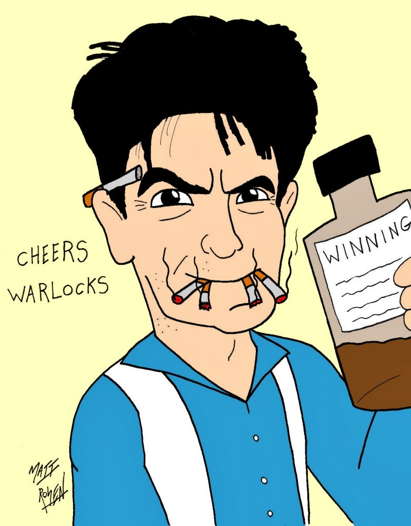 Cartoon: Charlie Sheen