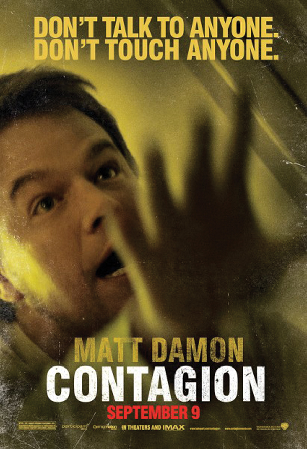 'Contagion' leaves the audience hypochondriacal