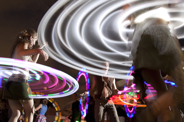 Hippies unite at global EarthDance festival