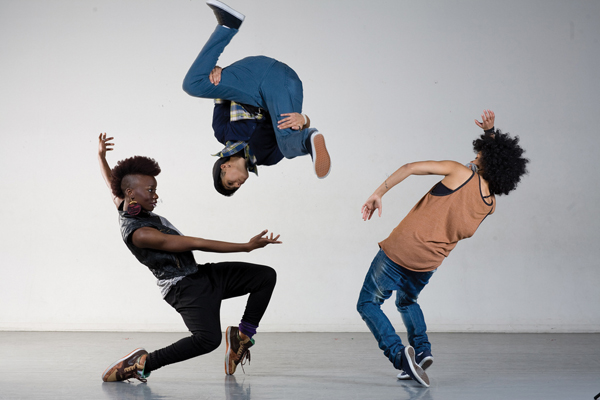 Hip-hop group talks 3-D choreography, gender roles