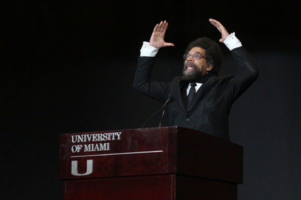 Cornel West stops by campus to celebrate diversity