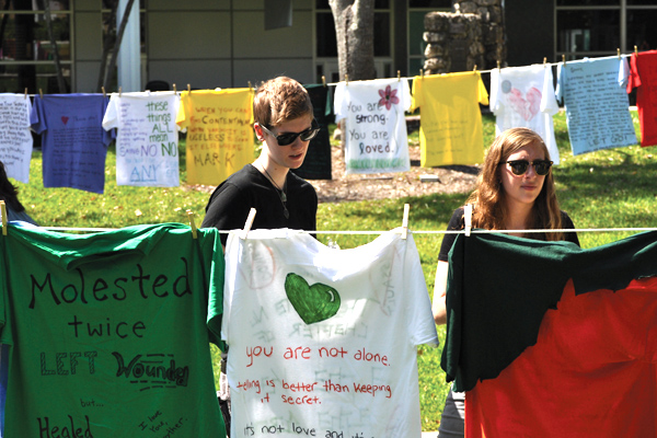 Clothesline for a cause