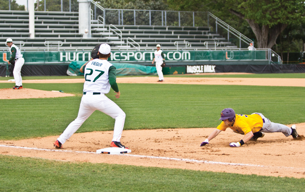 Hot-hitting Canes improve to 7-0