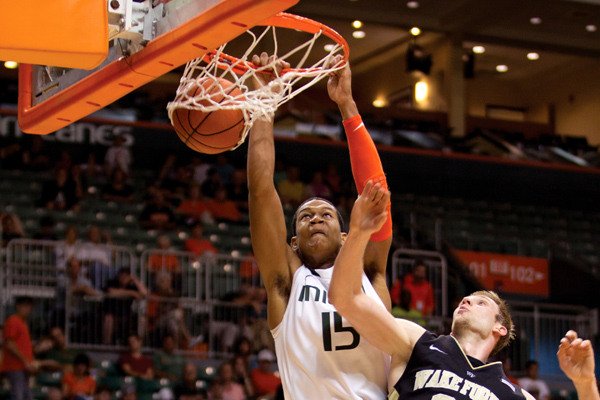 Canes back on track after win against Wake