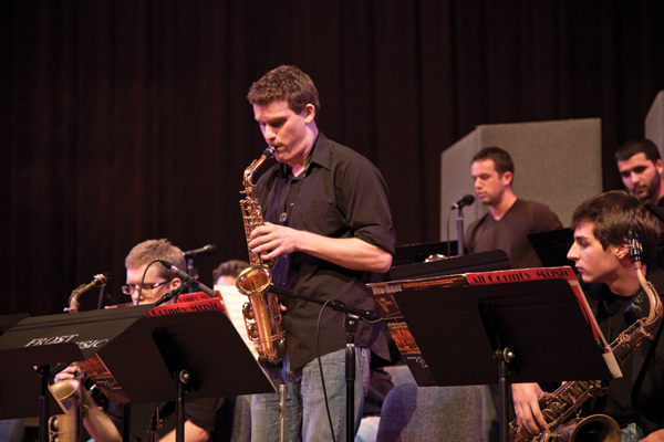 Studio jazz band transforms favorite Radiohead tunes