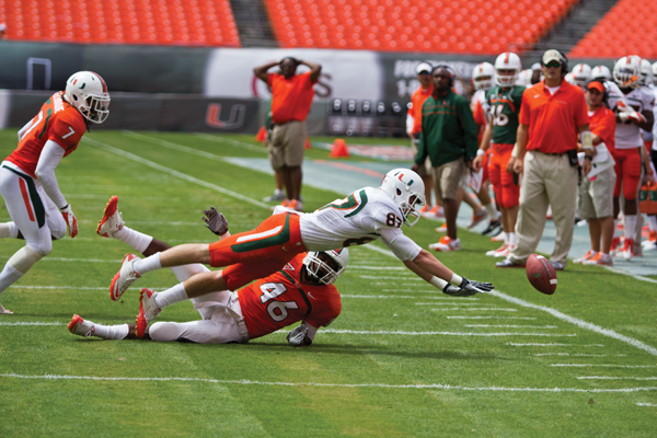 Offense stagnant in spring scrimmage