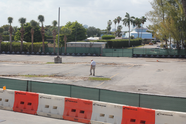 Virginia Key campus parking altered due to construction