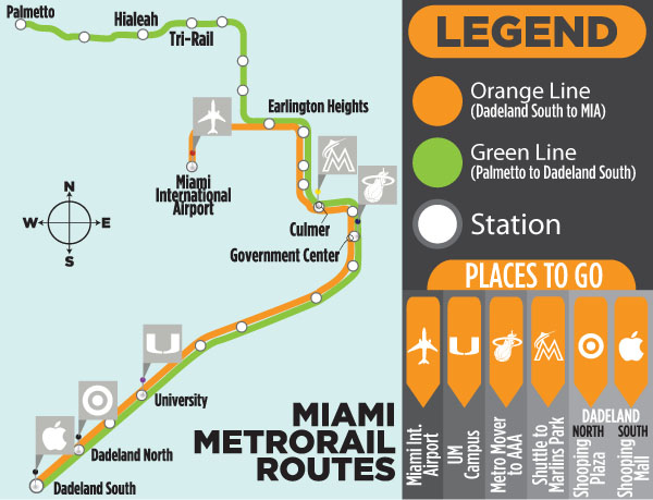 Extension will connect Metrorail to Miami airport