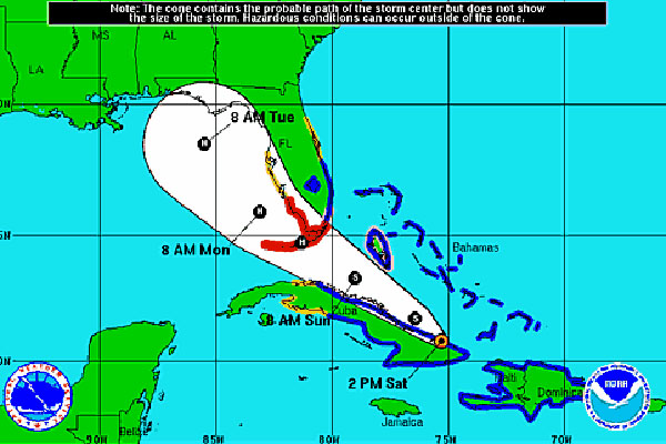 University to close Monday as Isaac approaches