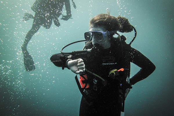 UM SCUBA club ventures out on world-class dives