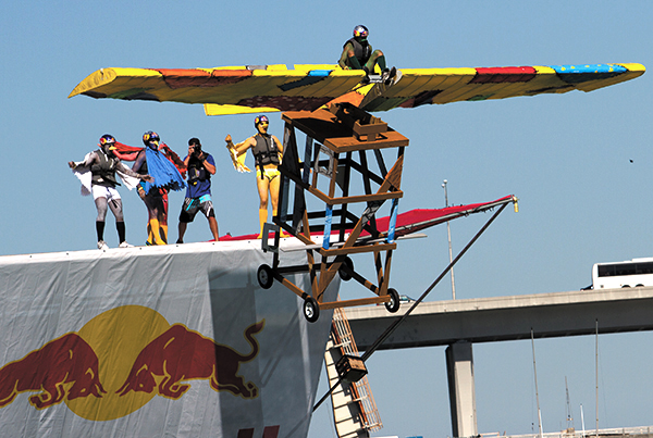 Red Bull Flugtag gives students wings
