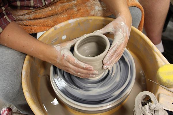 Sculpture program develops art, creativity