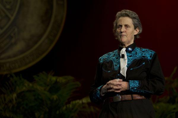 Temple Grandin discusses autism, better understanding of the mind