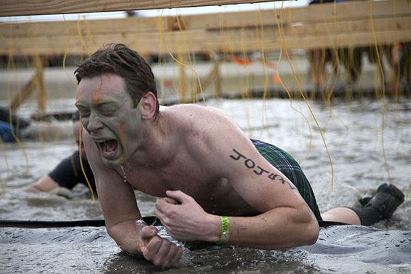 Photo Brief: Trekking through mud for veterans