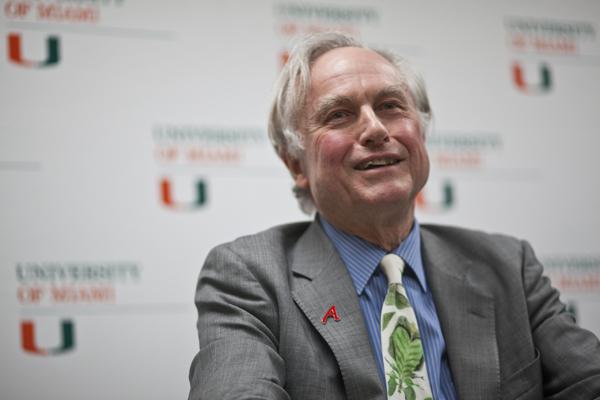 Dawkins visits campus