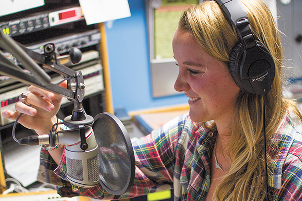 WVUM DJ turns up volume with her passion