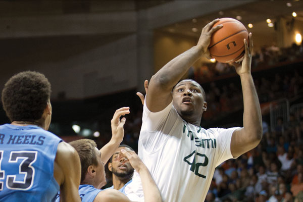 Canes ready for Marquette, but Johnson stays home