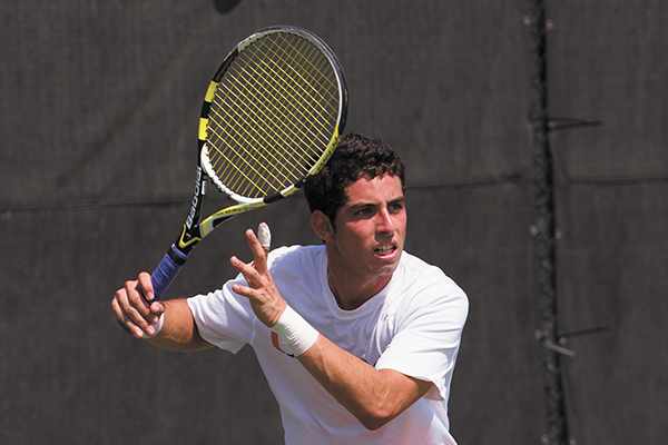 Soto leads team as singles player with 8-5 start