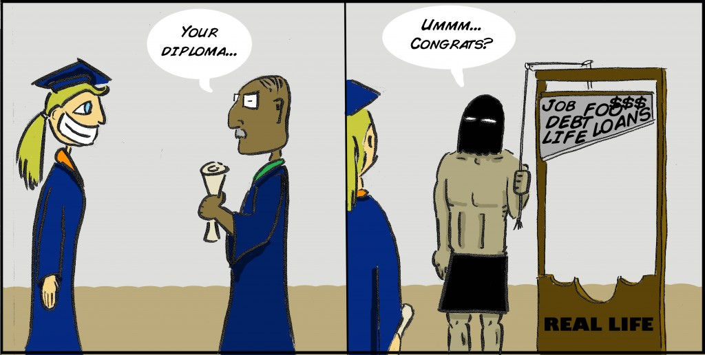 CARTOON: Graduation