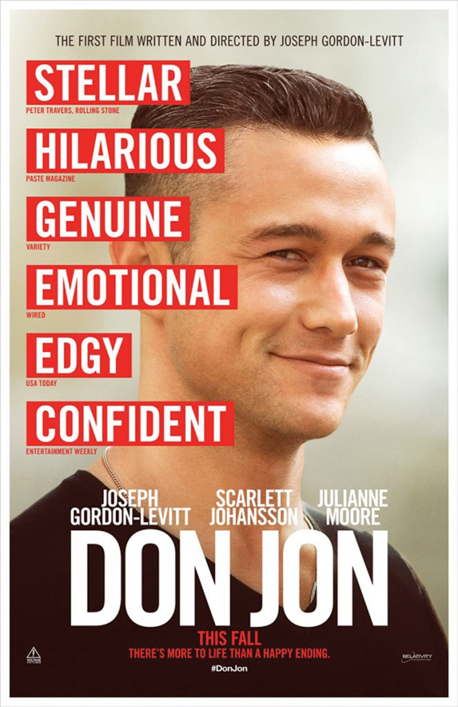 'Don Jon' shows other side of men, romance