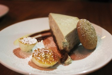 The Banana Cheesecake at Gigi in Midtown. Morgan Coleman // Contributing Photographer