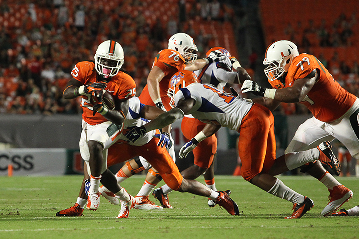 Canes hang record 77 points on overmatched Tigers