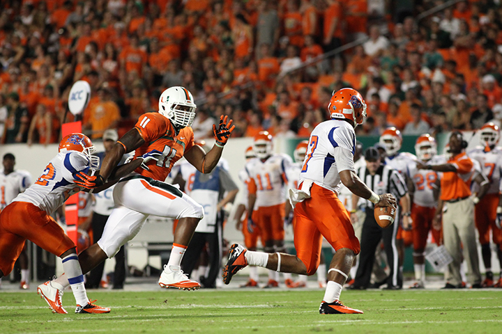 Canes shut down Savannah State 77-7