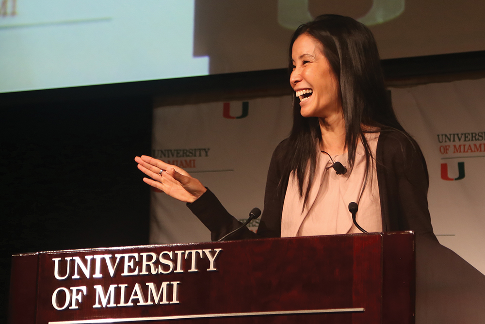Ling inspires students to take action, change the world