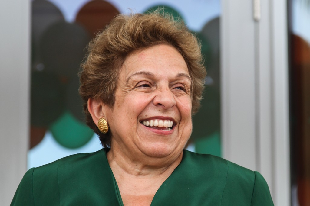 A conversation on healthcare with President Shalala