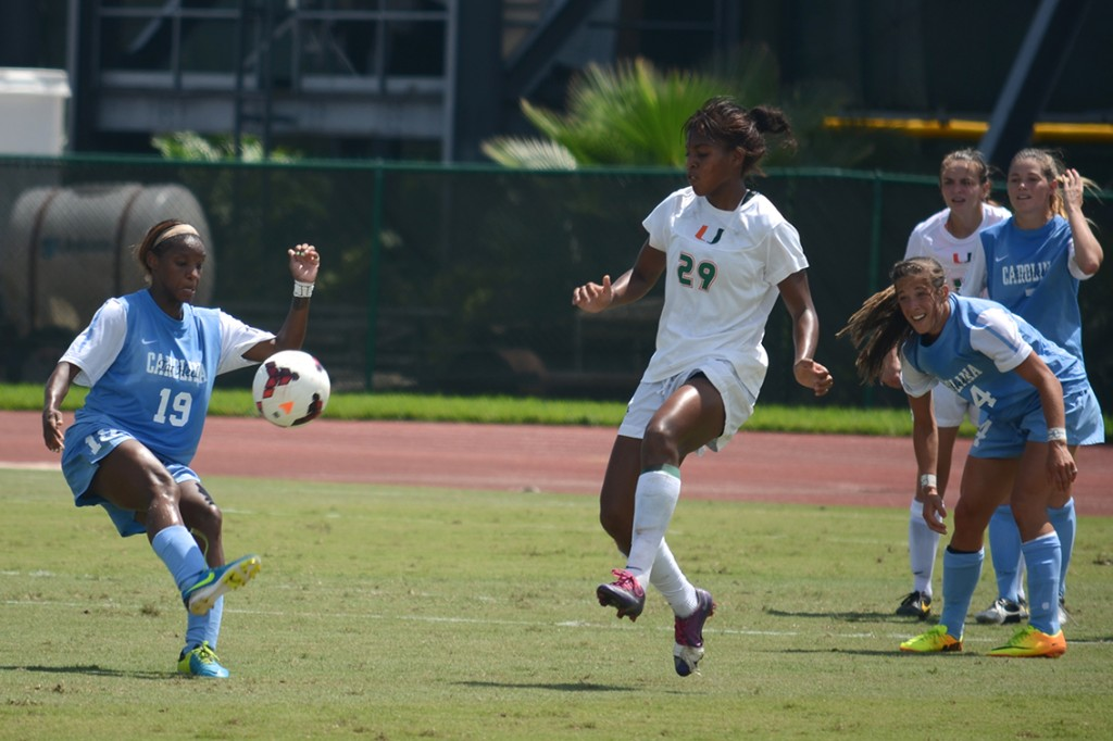 UNC shuts Miami out behind Dunn's hat trick