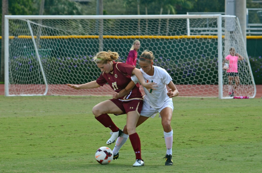 Miami, Boston College unable to score in two overtime sessions