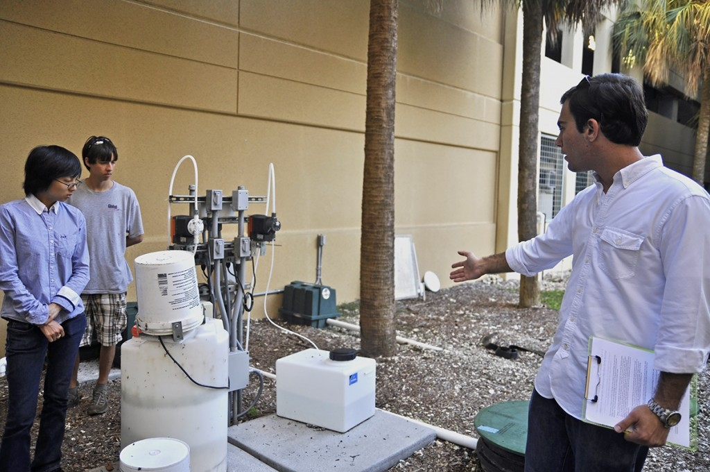 Net-Zero works to improve water sustainability