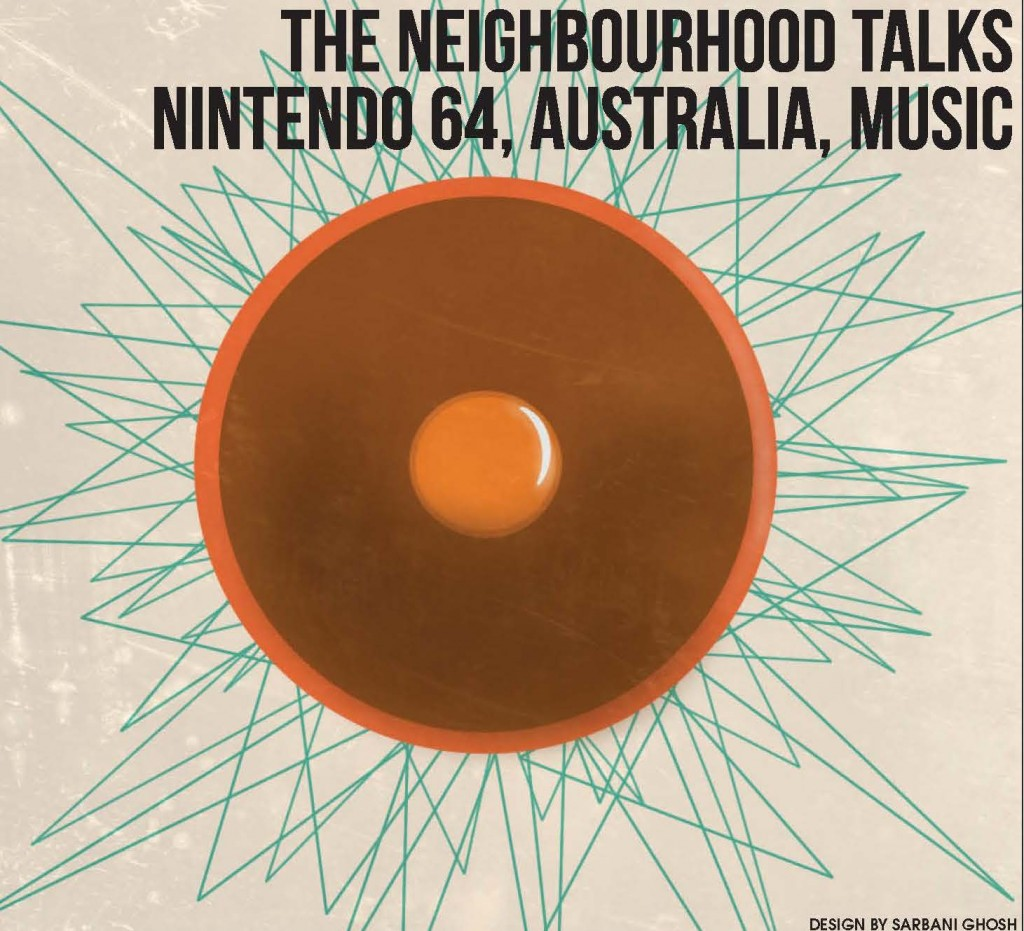 The Neighbourhood talks Nintendo 64, Australia, music