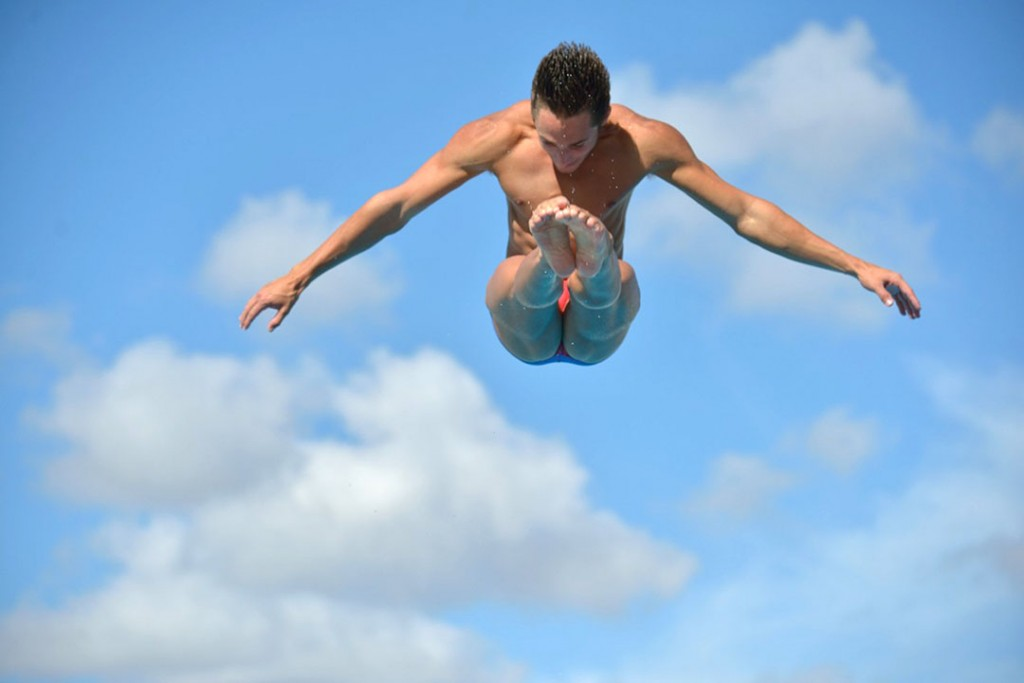UM diver winning big after redshirt year