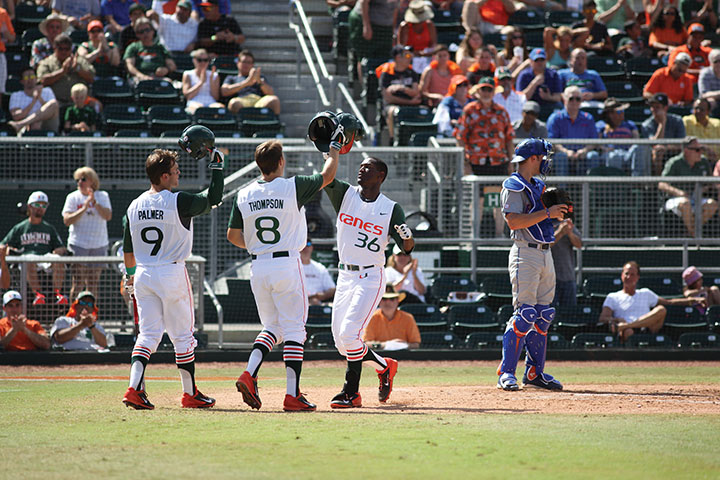 Miami turns tables on UF with big series win