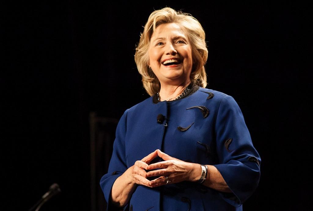 Hillary Clinton visits BankUnited Center Wednesday night