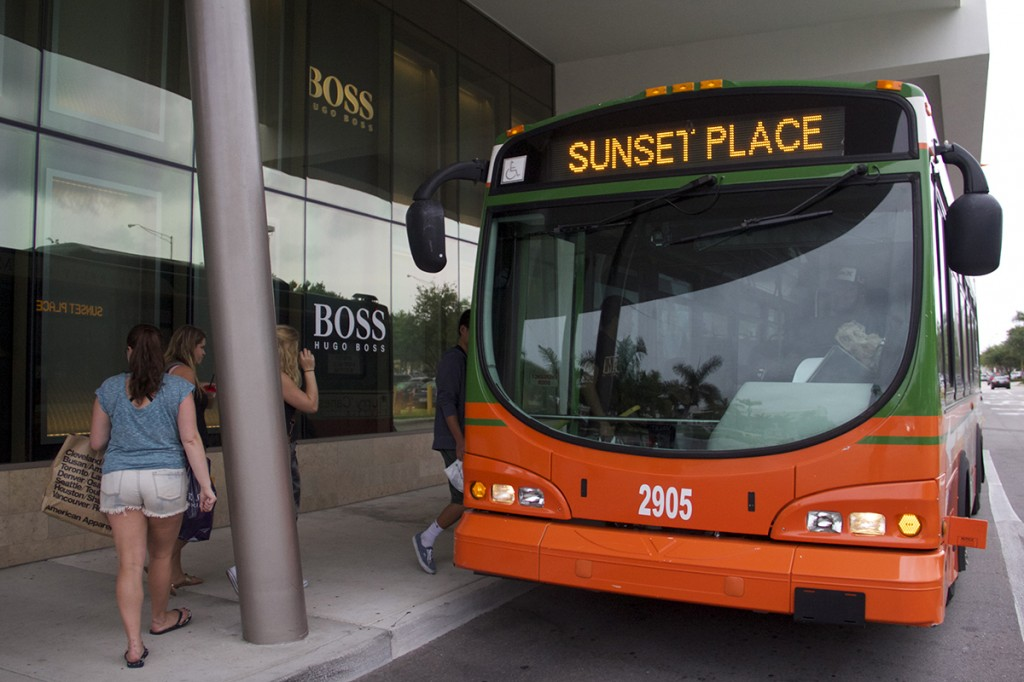 Sunset Place shuttle route extended to Dadeland