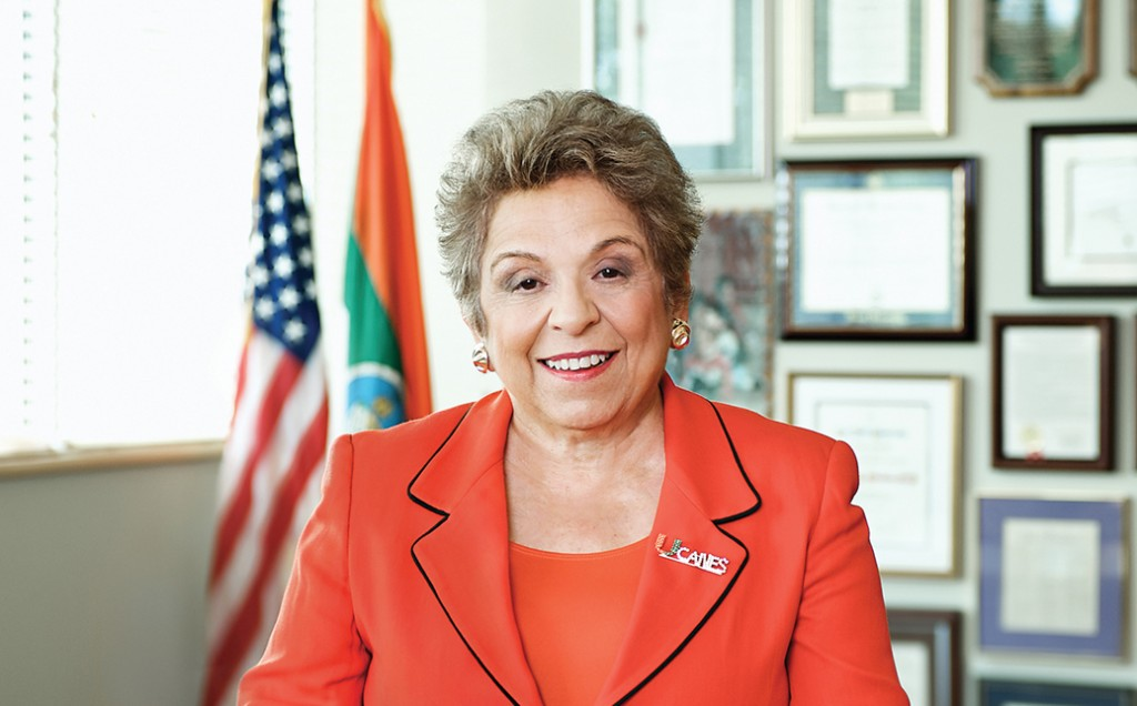 Donna E. Shalala will step down at school year's end