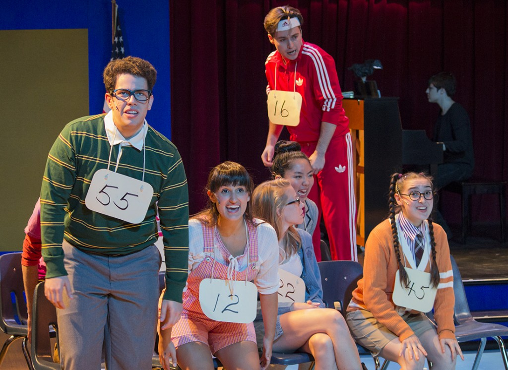 Spelling bee musical scores serious laughs