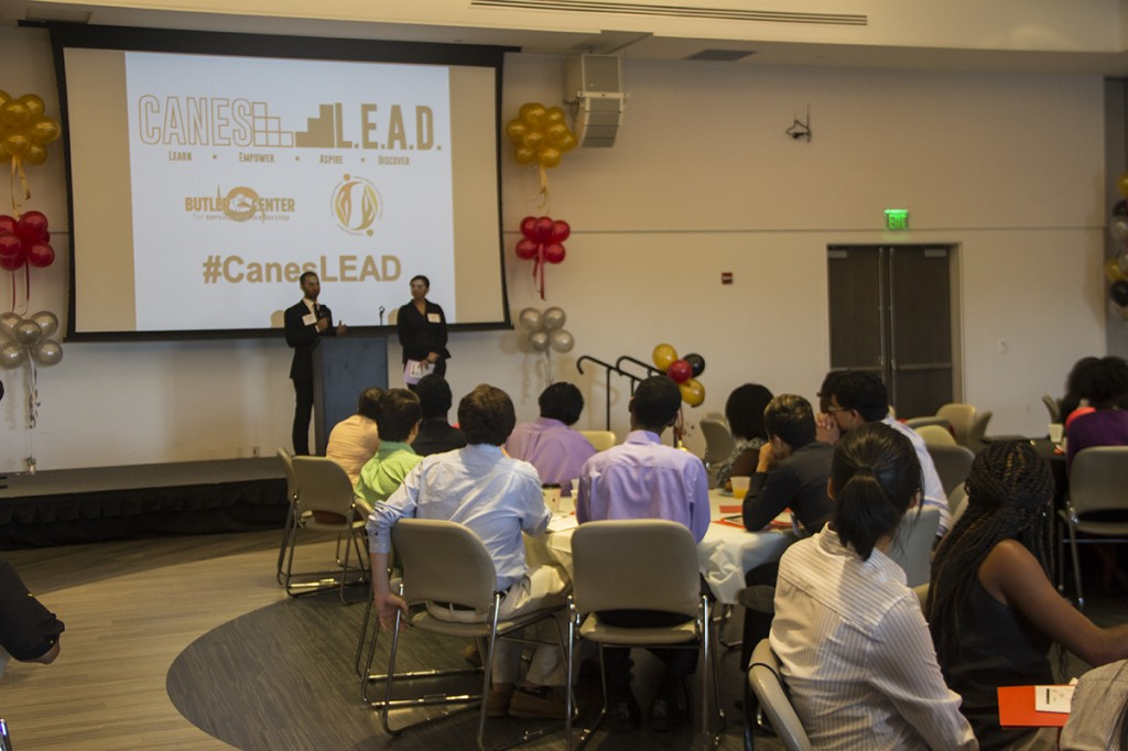Canes L.E.A.D (Learn, Empower, Aspire, Discover), a one-day leadership conference, featured worksops and interactive sessions. The event took place on Saturday in the SAC ballrooms. Victoria McKaba // Staff Photographer