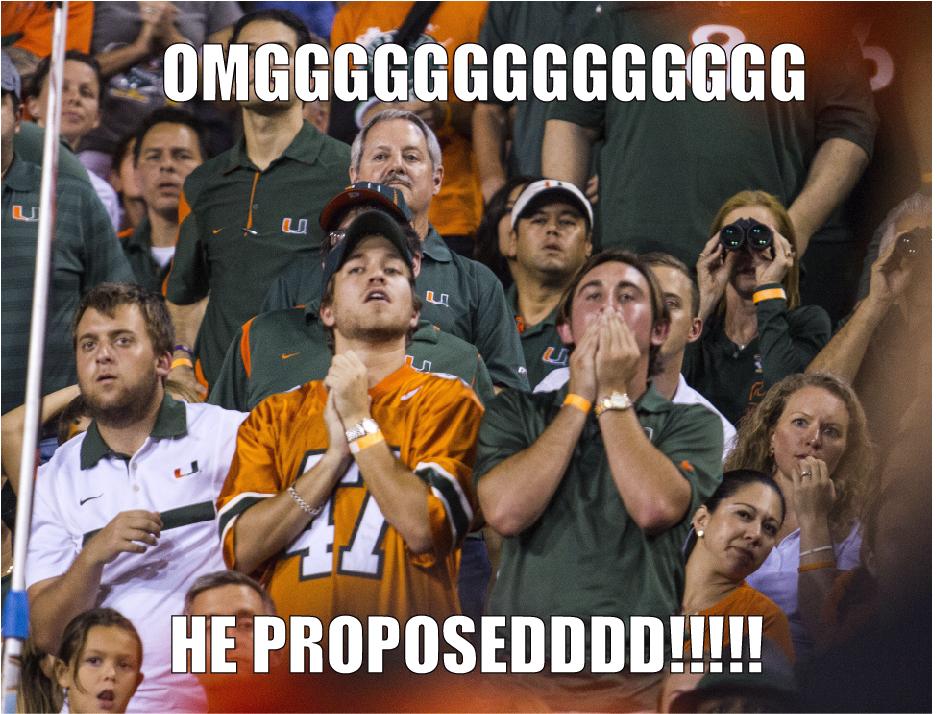 Danny's Meme Den: Miami-Nebraska Game